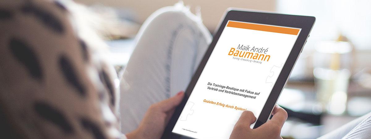 Mediathek Maik André Baumann | Verkaufstraining und Führungskräftecoaching