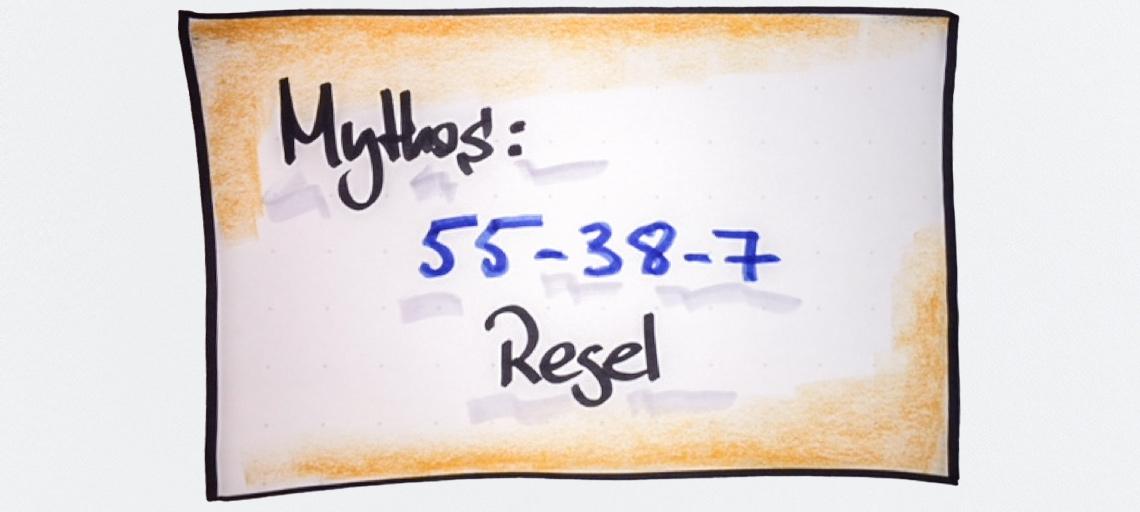 Mythos 55-38-7 Regel - Worauf es im Verkauf wirklich ankommt
